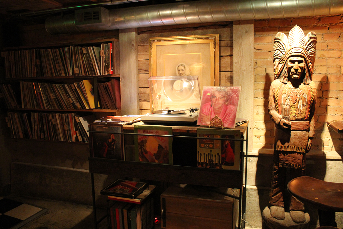 Record Collection at SLC Speakeasy The Rest