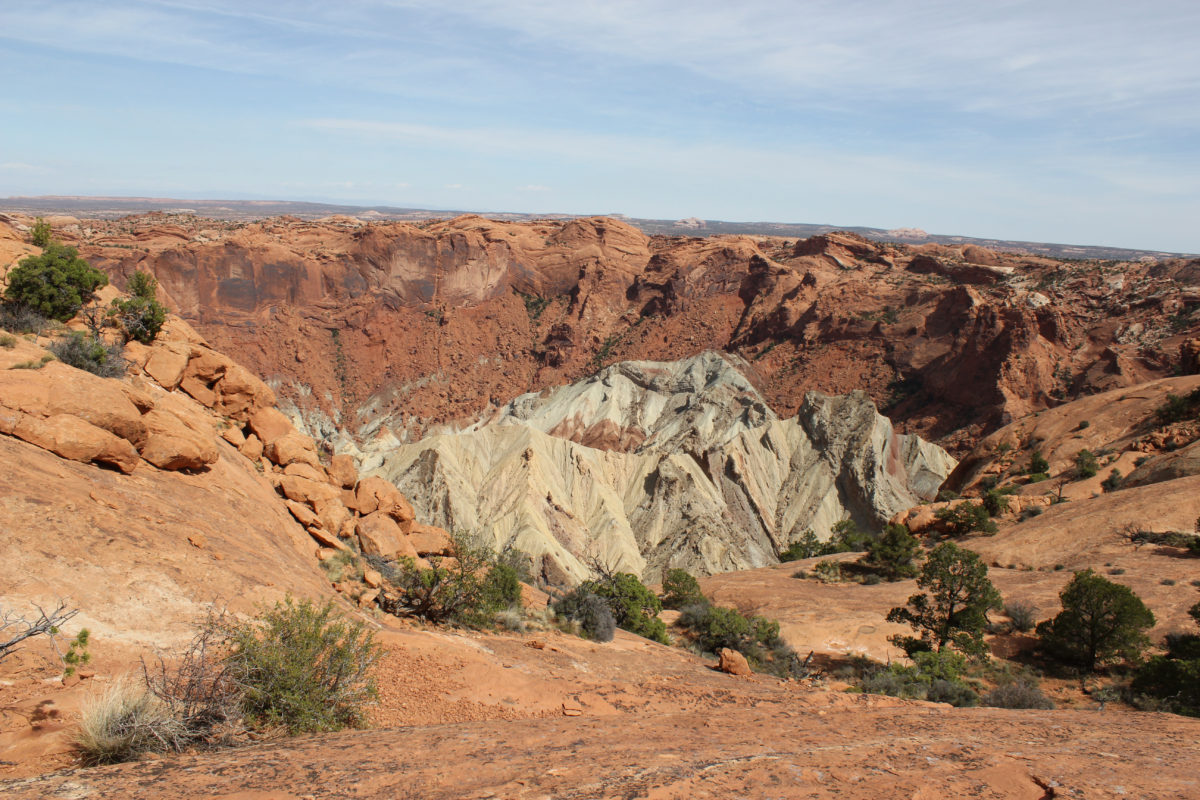 Upheaval Dome at Canyonlands National Park in Utah