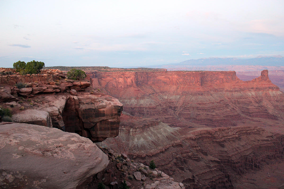 Canyon Vistas at Dead Horse Point State Park