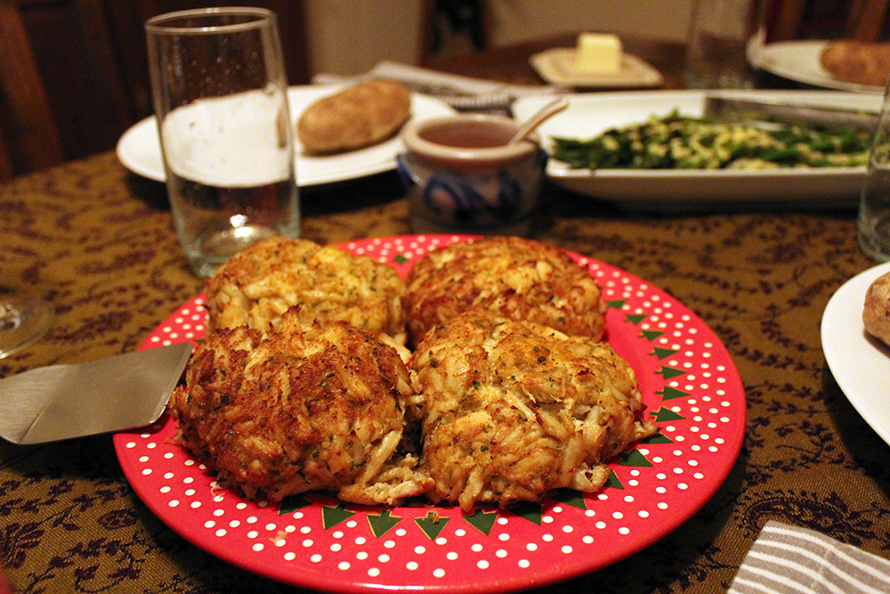 Jumbo Lump Crab Cakes from Annapolis Seafood Market