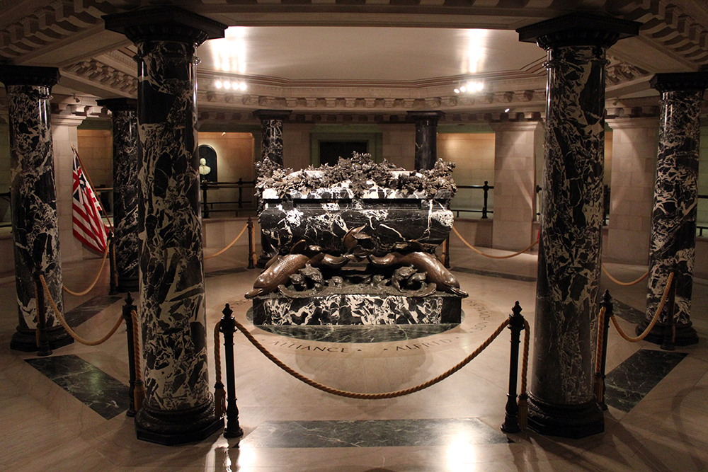 Crypt of John Paul Jones at Naval Academy Chapel in Annapolis