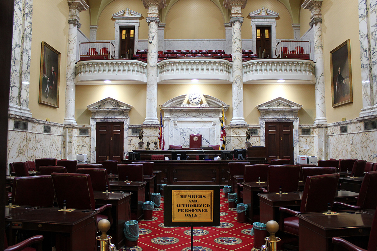 Maryland State House Senate Chamber