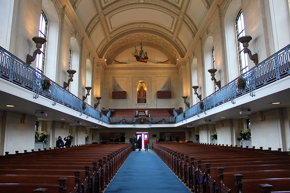 U.S. Naval Academy Chapel in Annapolis