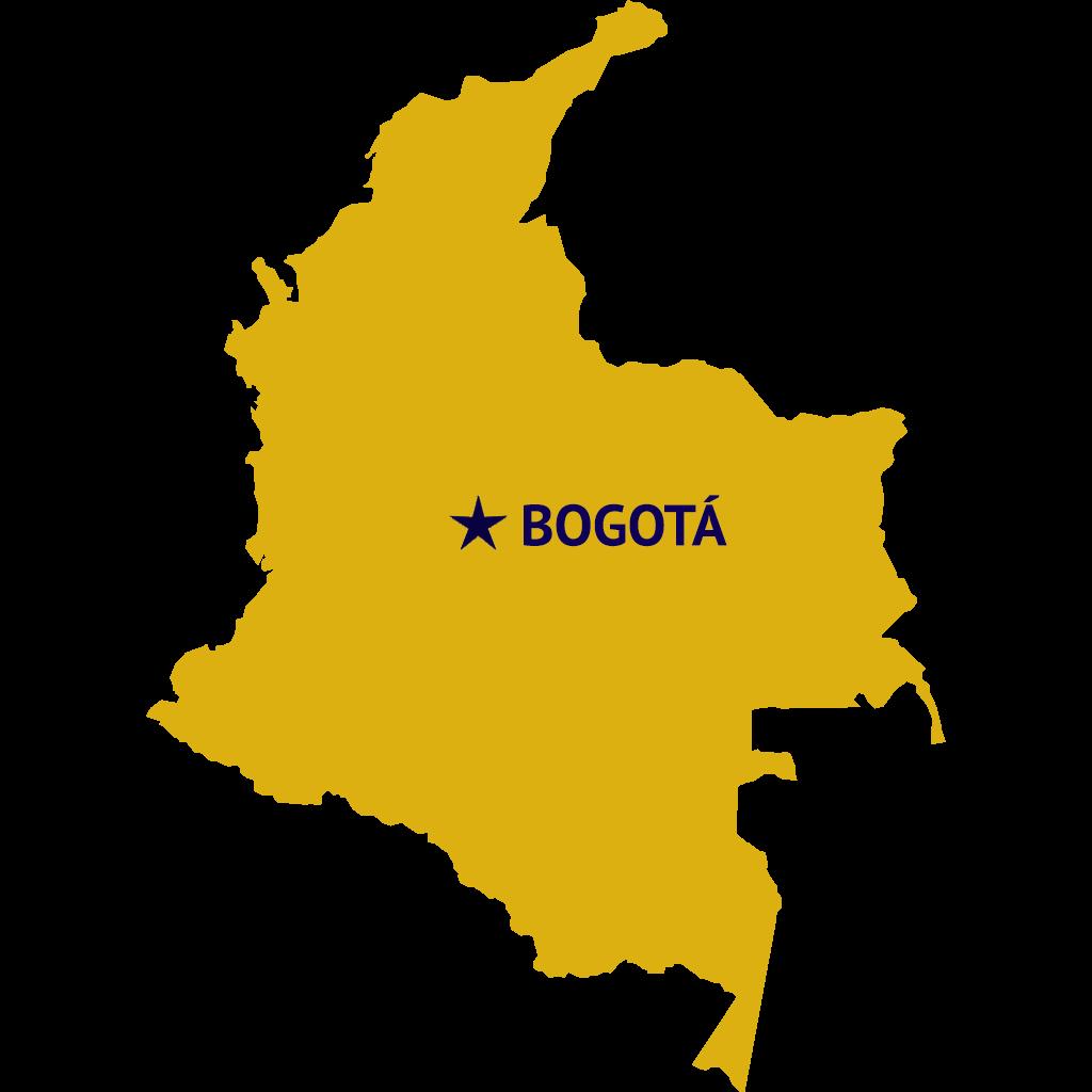 Bogotá, Colombia Map