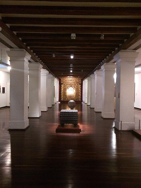 Hall in Museo Nacional de Colombia in Bogotá