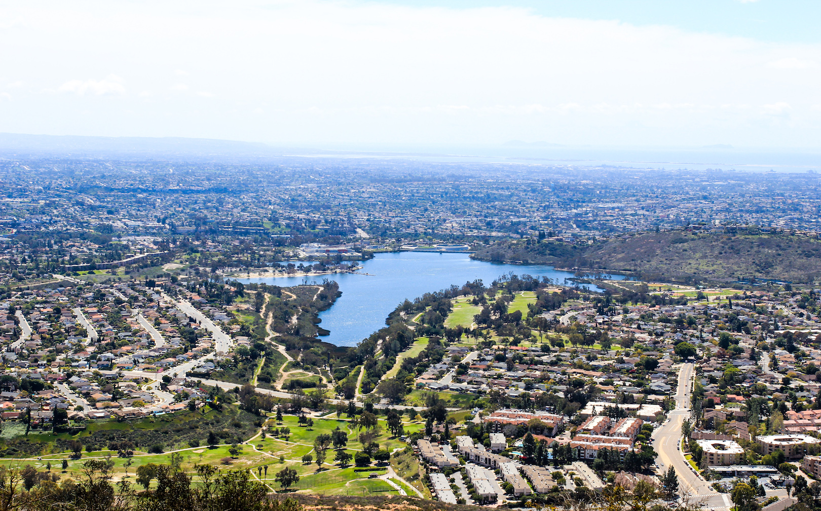 Summit Overlook at Cowles Mountain in San Diego, CA