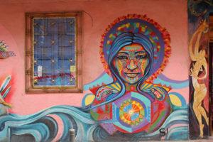 Woman Street Art - Bogotá Colombia Graffiti Tour