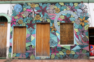 Bright Building Street Art - Bogotá Colombia Graffiti Tour