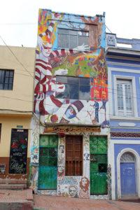 Circus Street Art - Bogotá Colombia Graffiti Tour