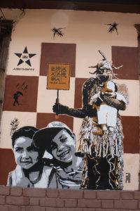 Political Street Art - Bogotá Colombia Graffiti Tour