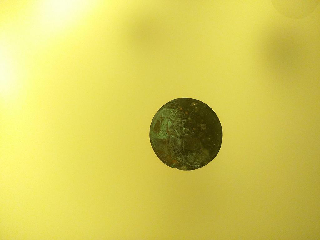 Gold Disc - Museo del Oro - Bogotá, Colombia