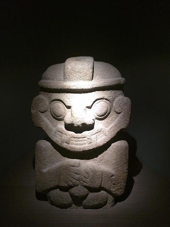 Colombian Stone Statue - Museo del Oro - Bogotá, Colombia