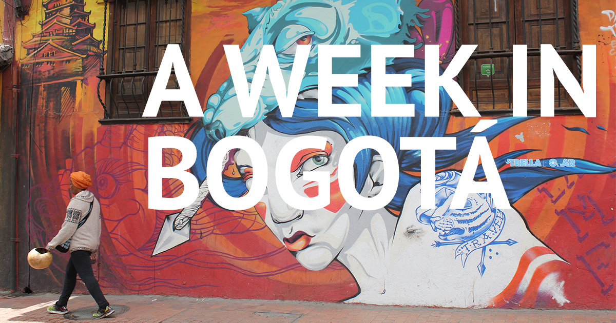 A Week in Bogota Travel Blog
