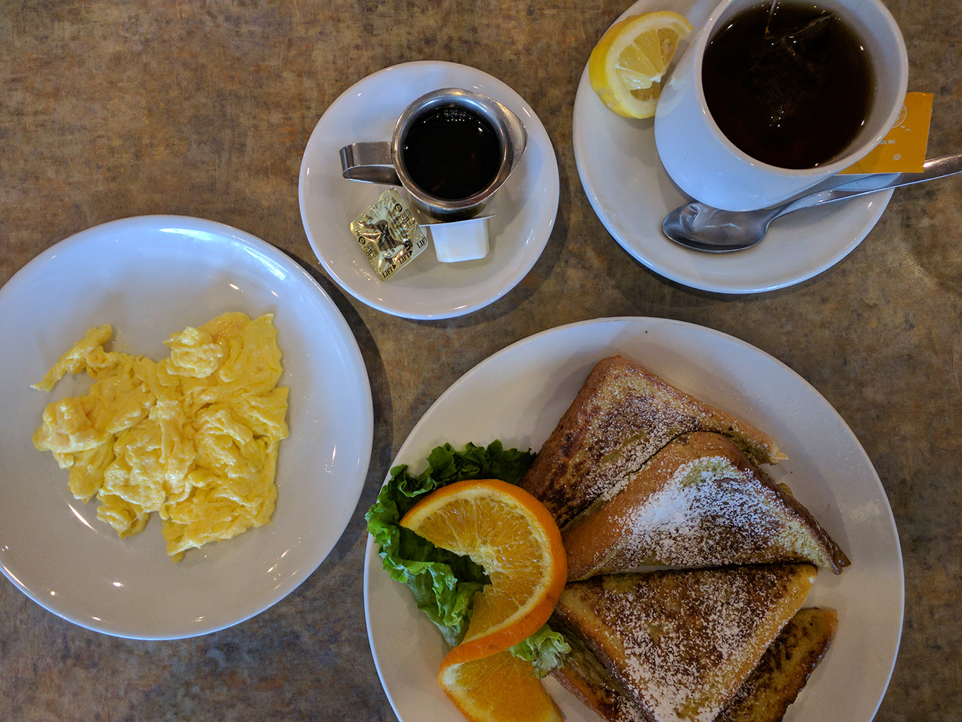 French Toast & Scrambled Egg at Glass Onion Griddle in Allen Park, MI