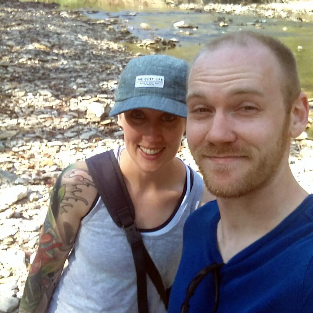 Our First Hike at Minor Park on the Blue River in Kansas City