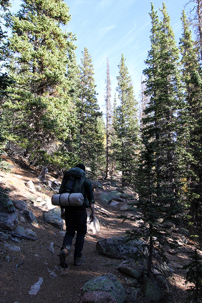 Hiking Barr Trail to Pikes Peak Summit