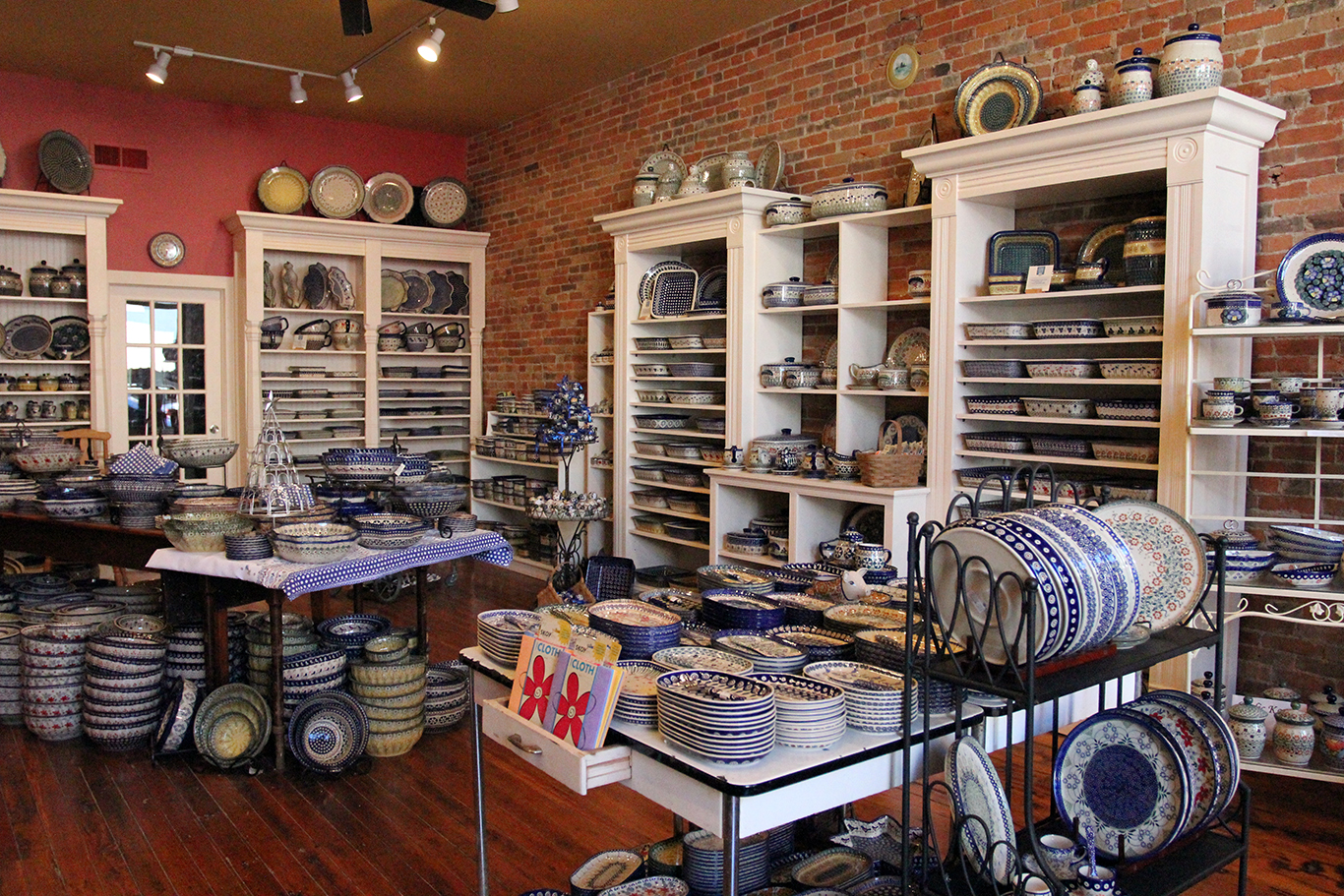Renditions Polish Pottery Store in Weston, MO