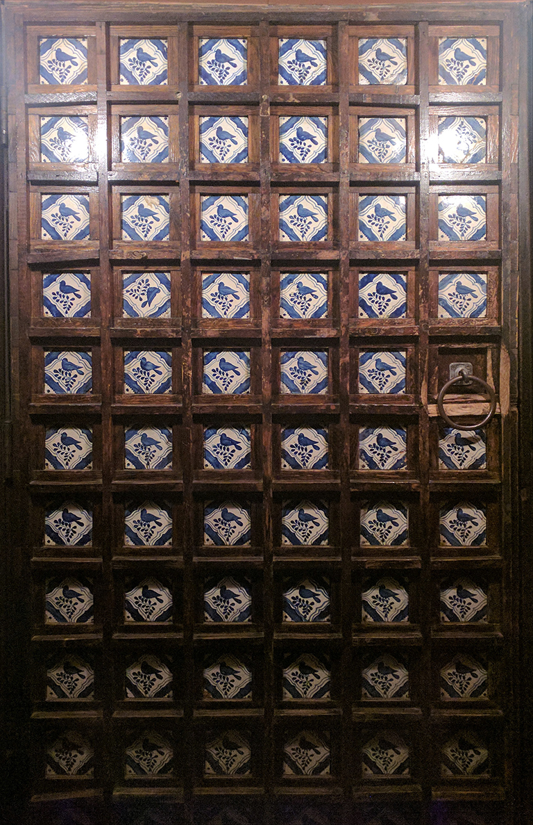 Doorway at Casa Romero in Boston