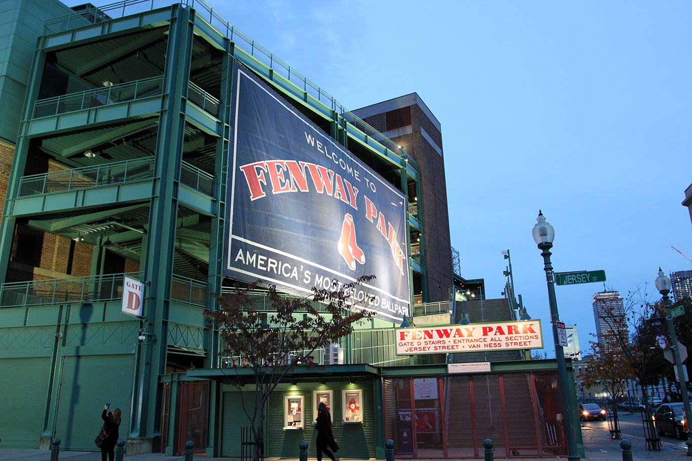 Fenway Park After Boston Red Sox Won the 2018 World Series