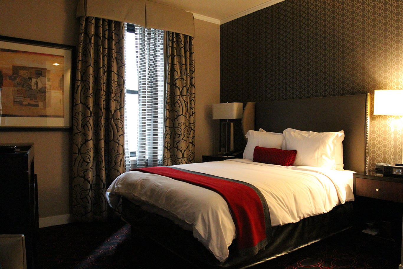 King Bedroom at Copley Square Hotel in Boston