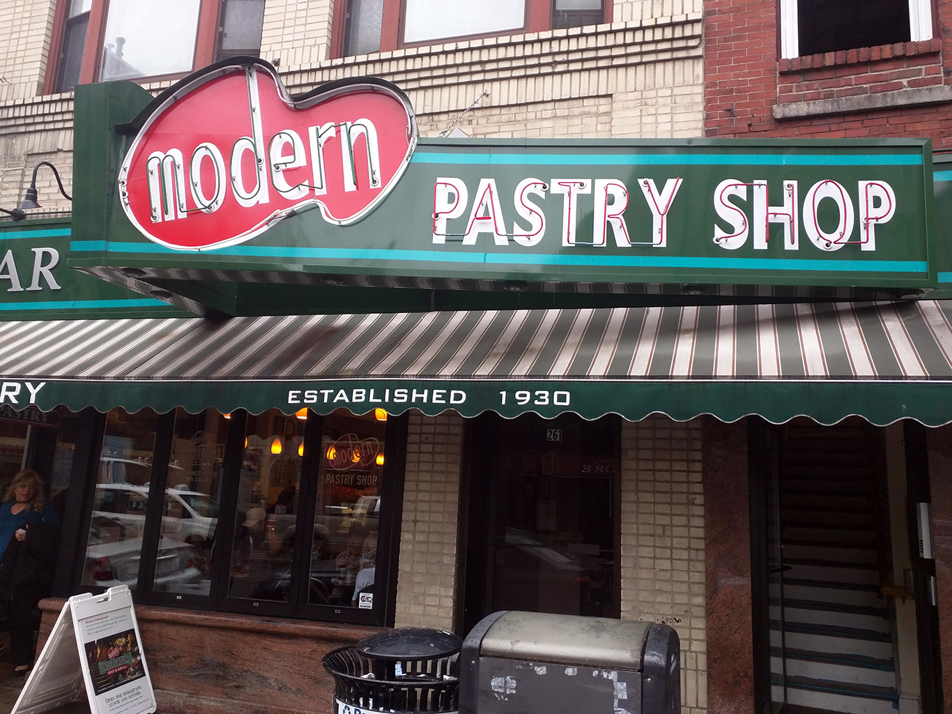 Modern Pastry Shop in North Boston