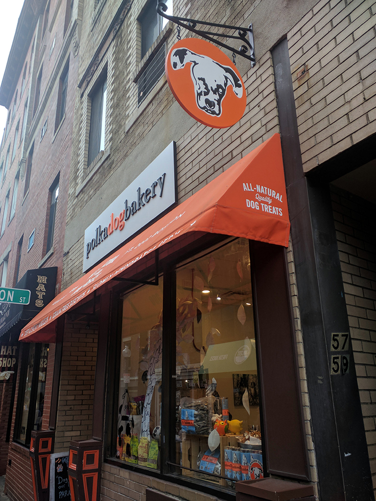 Polka Dog Bakery in Boston, Massachusetts