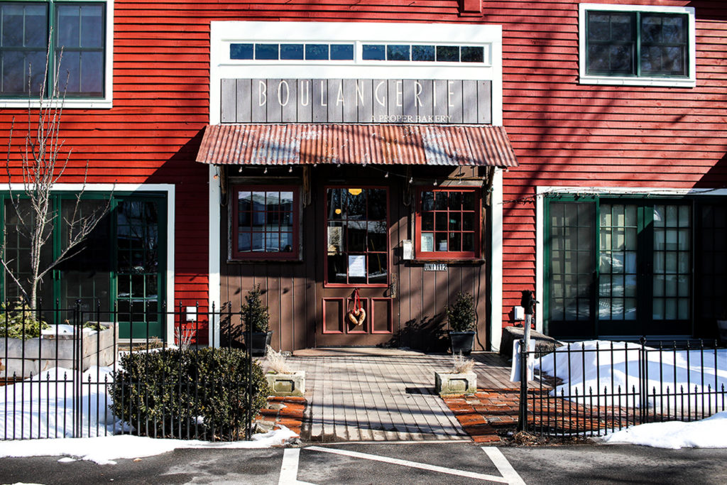 Boulangerie Bakery in Kennebunk, Maine