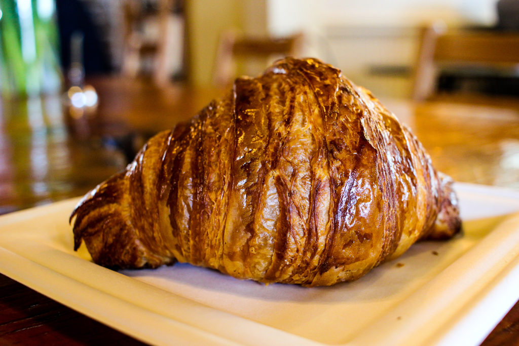 Fresh Croissant from Boulangerie in Kennebunk, Maine