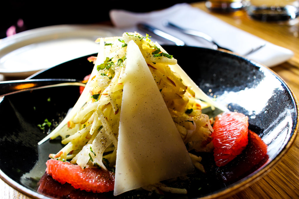 Shaved Fennel Salad at Isa Bistro in Portland, Maine