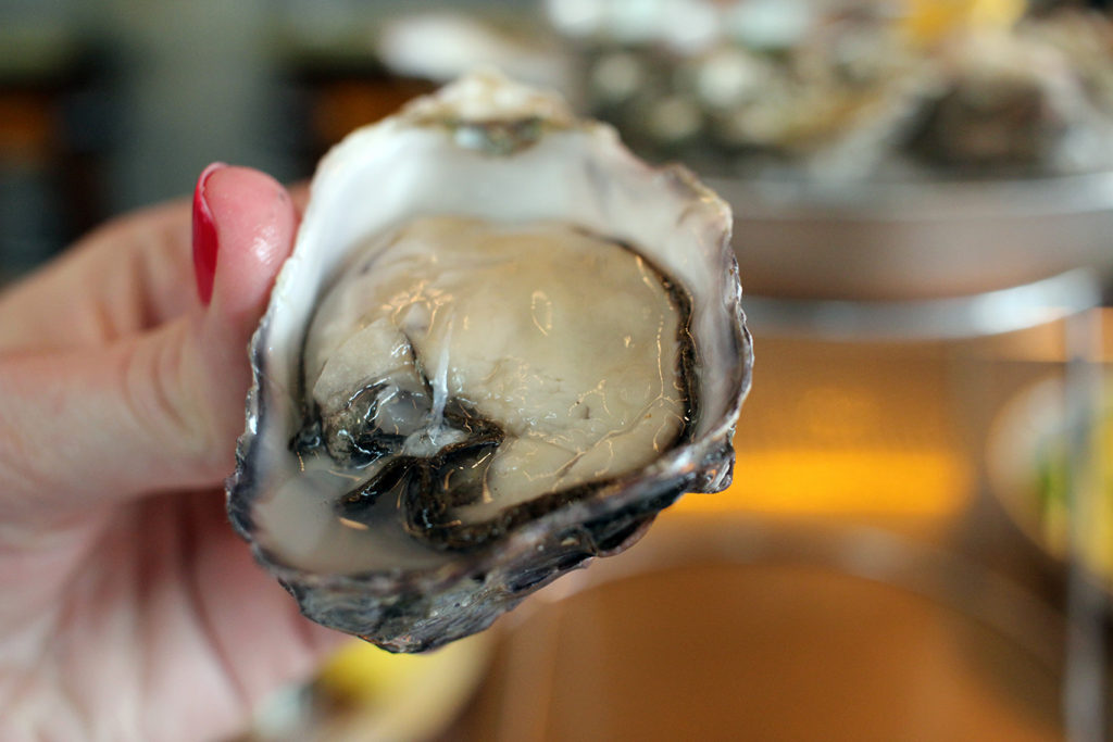 Phantom Creek oysters from British Columbia at Ironside Fish & Oyster