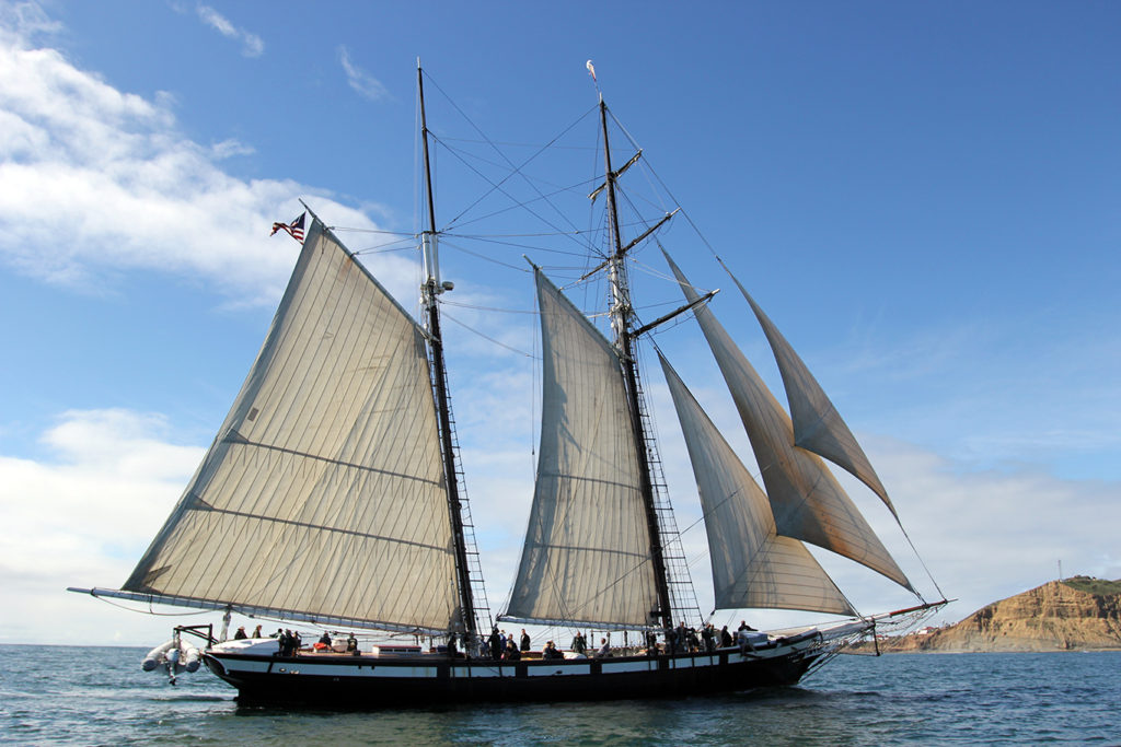 Tall Ship Adventure on the schooner Californian in San Diego