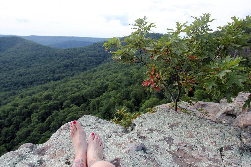Overlook at White Rock Mountain, Arkansas