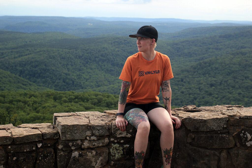 Heather at White Rock Mountain, Arkansas