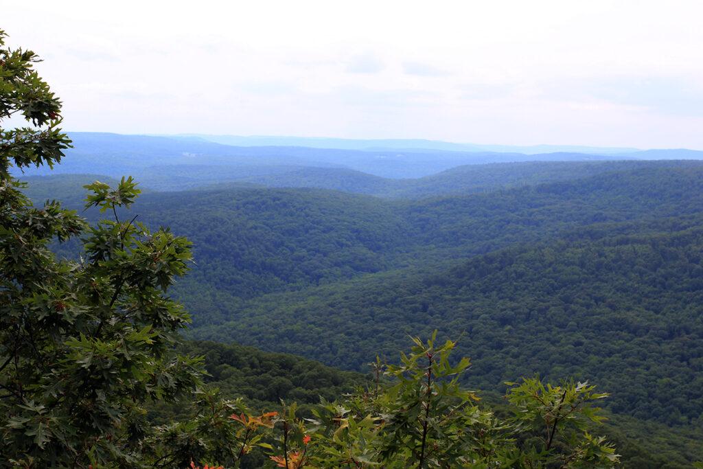Ozark National Forest Overlook at White Rock Mountain, Arkansas