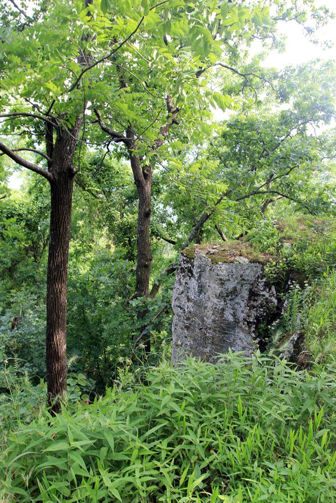 Bluffs on the Ozark Highlands Trail