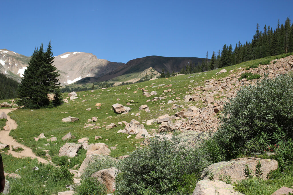 Herman Gulch Hiking Trail in Colorado