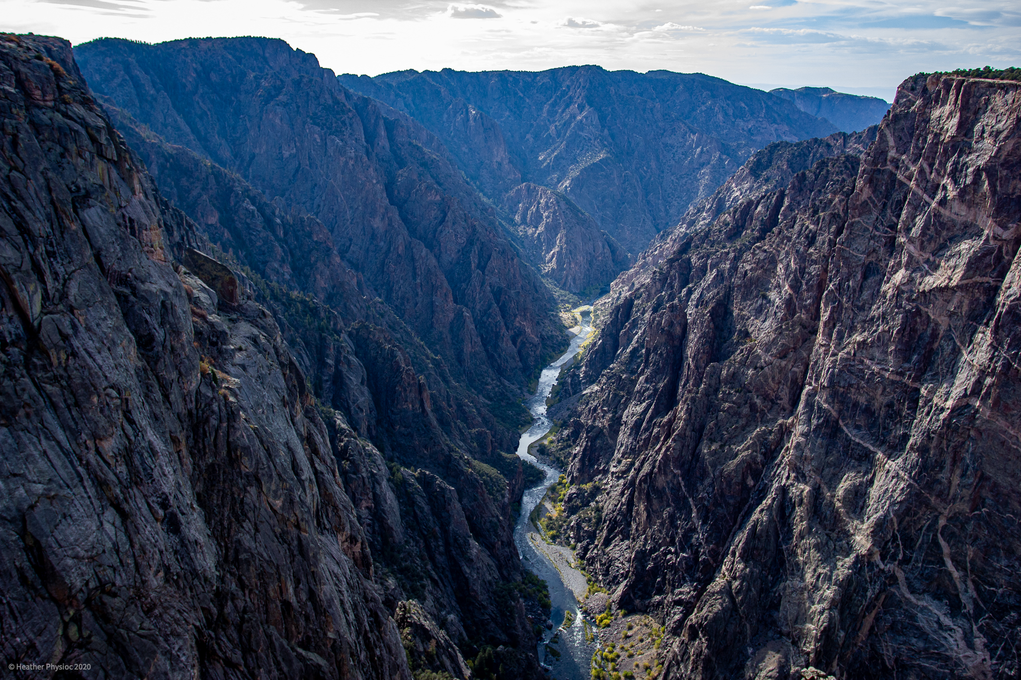Perspective at Black Canyon of the Gunnison National Park