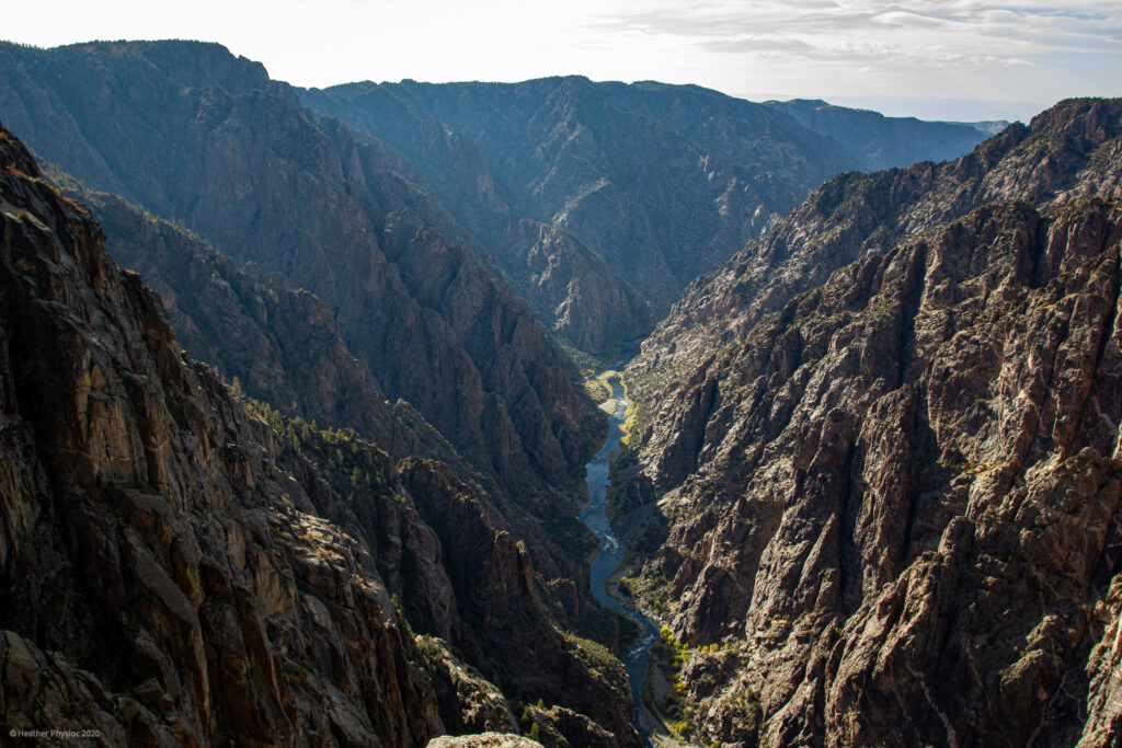 Dragon Point at Black Canyon of the Gunnison National Park in Colorado
