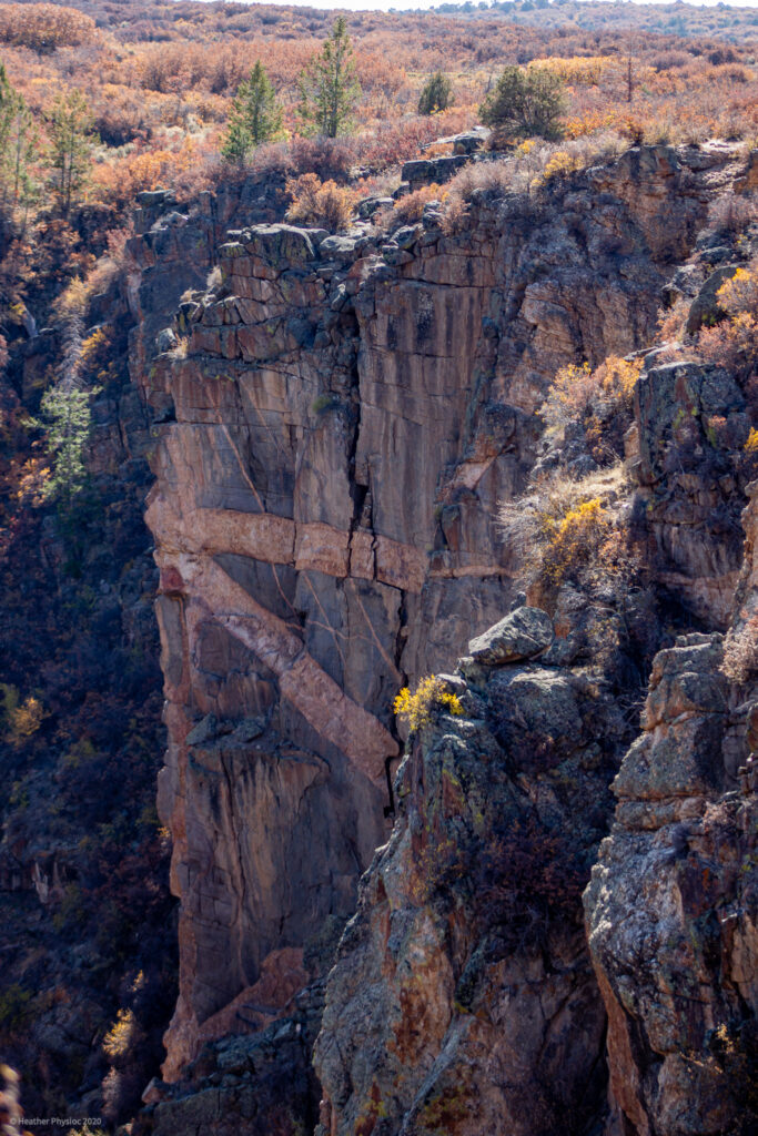 Canyon Walls at Black Canyon of the Gunnison National Park