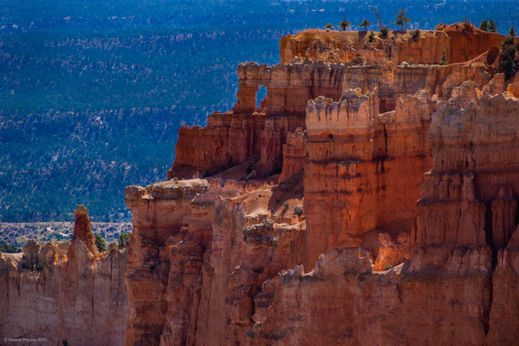 Window in Canyon Wall at Bryce Canyon National Park
