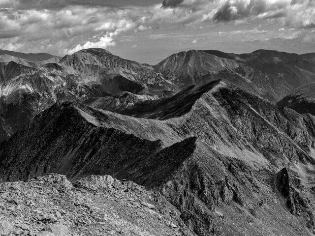 Hiking Huron Peak 14er in Colorado